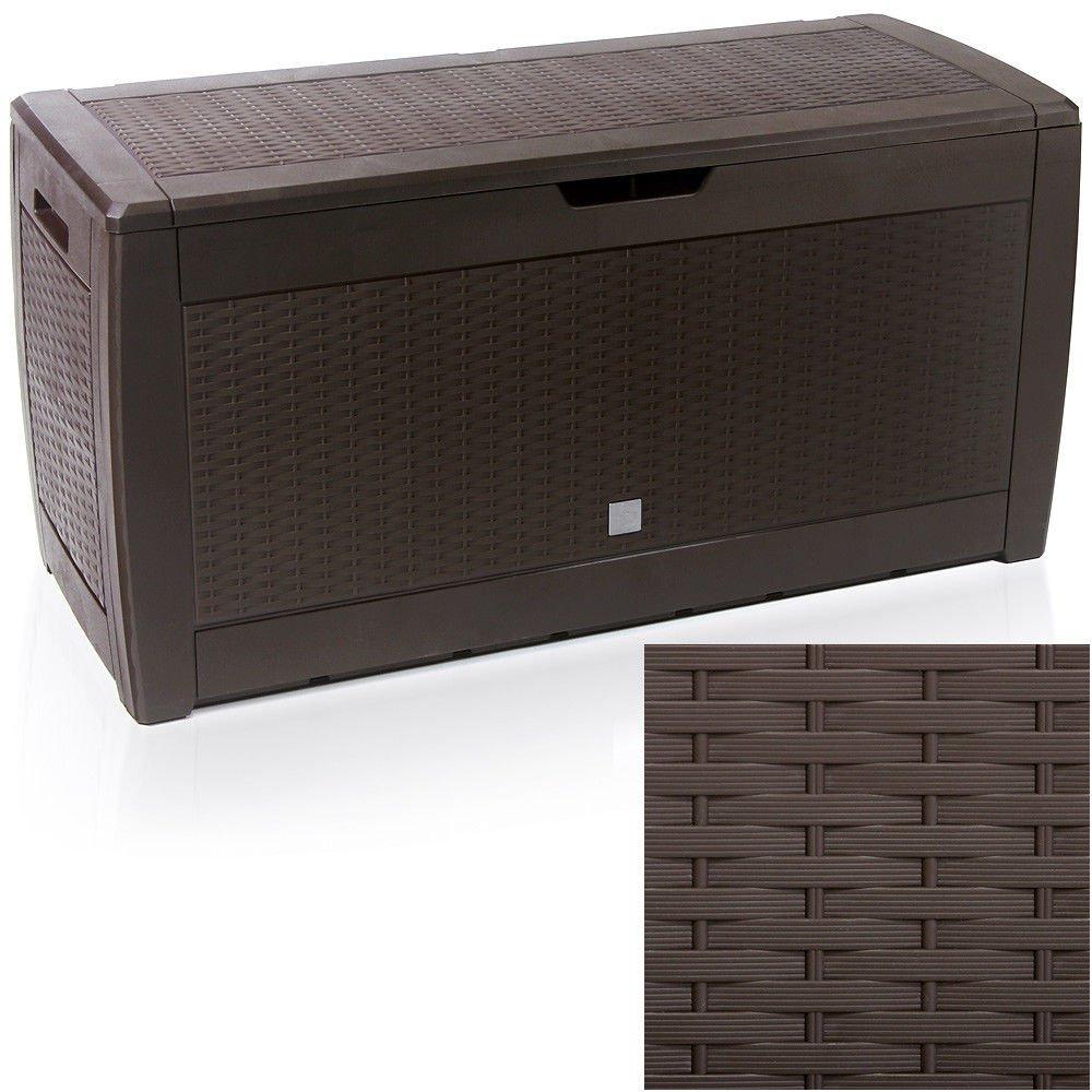 Caja de almacenamiento Home and Garden Products, de plástico, para jardín al aire libre, 310 L