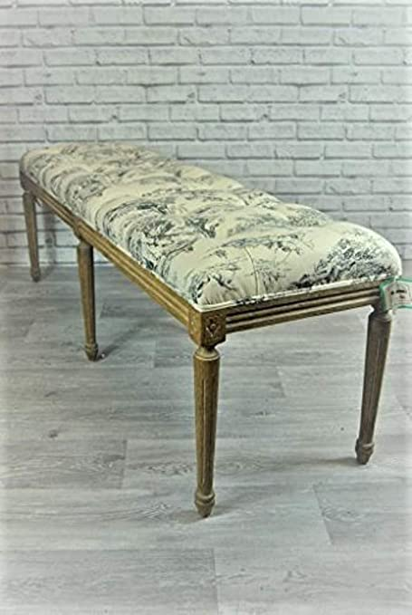 Magnificent Four Seasons Bench Seat French Style Vintage Blue Pdpeps Interior Chair Design Pdpepsorg