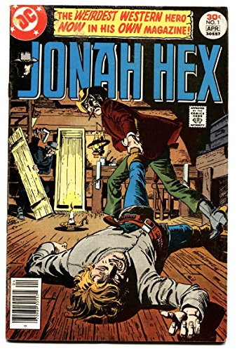 JONAH HEX #1-1977-FIRST ISSUE-comic (1977 Dc Comic Book)