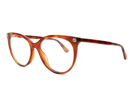 Gucci Monture de lunettes - Femme marron Havana  Amazon.fr ... f35aaeda4f61