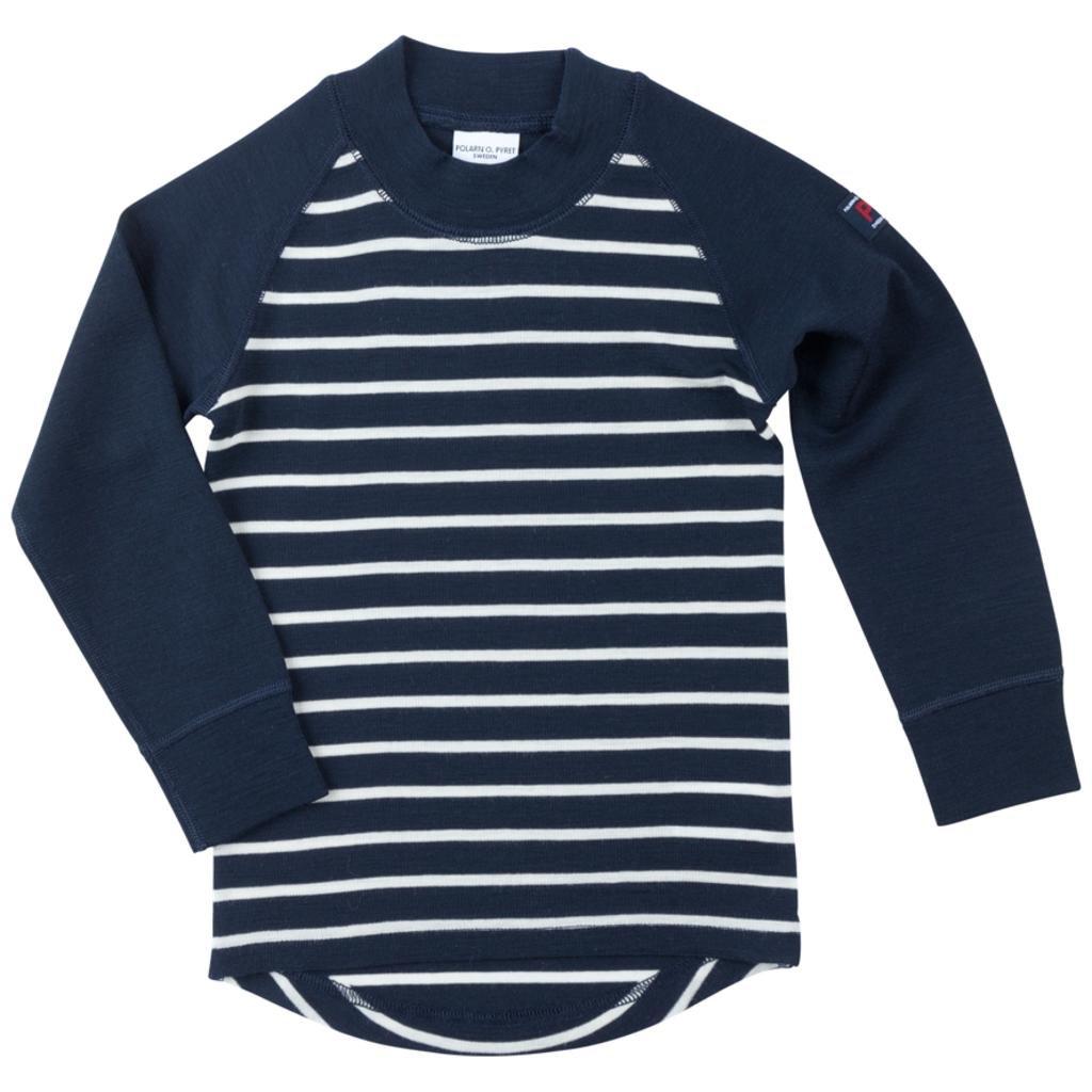 Polarn O. Pyret Merino Wool Stripe Sweater (Baby)