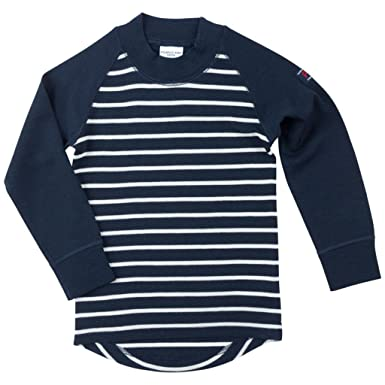 ea9705a73 Amazon.com  Polarn O. Pyret Merino Wool Stripe Sweater (Baby) - 6-12 ...