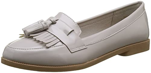 New Look Kairy, Mocasines para Mujer, Gris (Mid Grey 4), 38 EU: Amazon.es: Zapatos y complementos