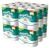 Angel Soft, Double Rolls, [4 Rolls*12 Pack] = 48 Total Count, Health Care Stuffs