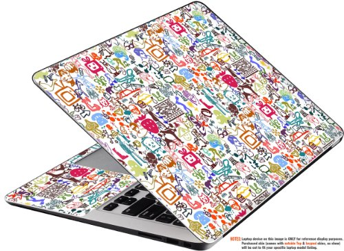 Decalrus - Decal Skin Sticker for Toshiba Satellite P50, P55 wiith 15.6