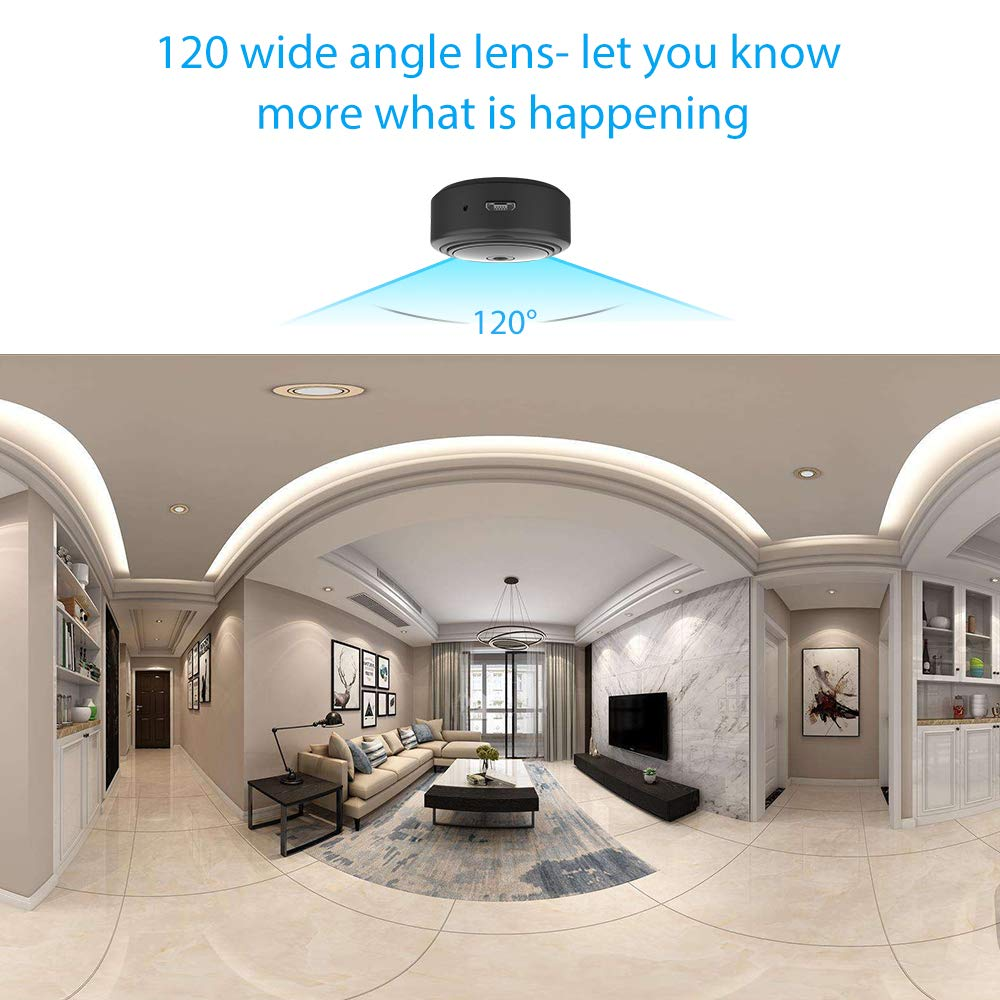 Mini WIFI Camera Ansteker Wireless Hidden Portable Camera 1080P ...