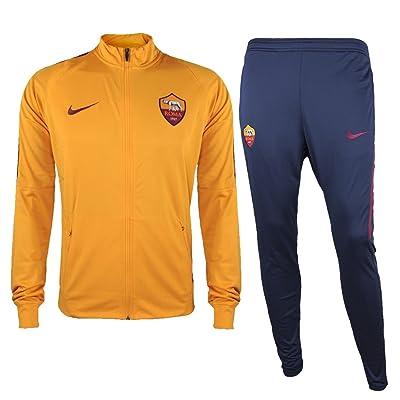 Nike roma et nK Dry sQD TRK Suit Survêtement K, Enfants, Orange (Vivid Orange/Velvet Brown/Velvet Brown), S