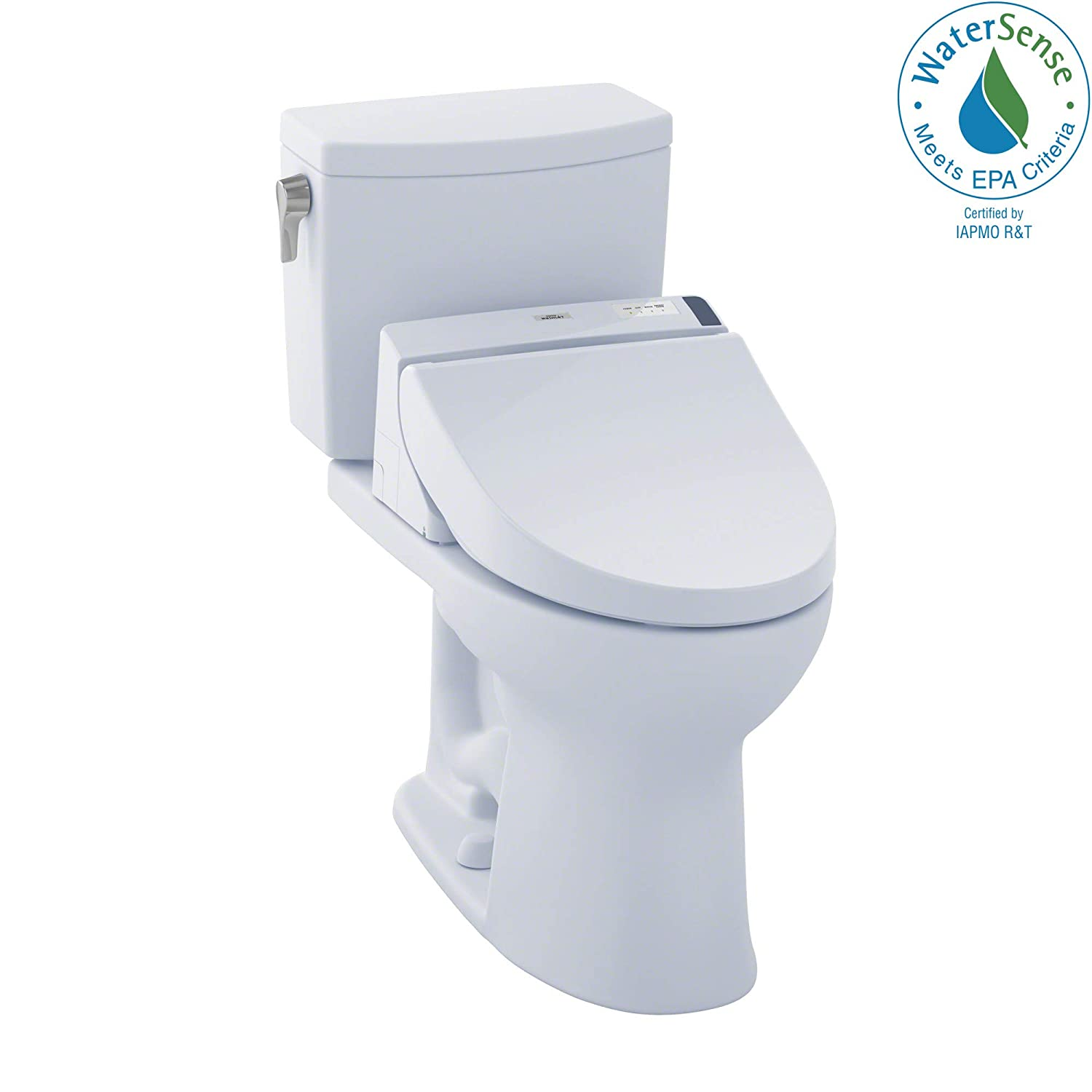 TOTO MW4542044CUFG#01 C200 WASHLET+ Kit, Drake II 1G Elongated 1.0 GPF