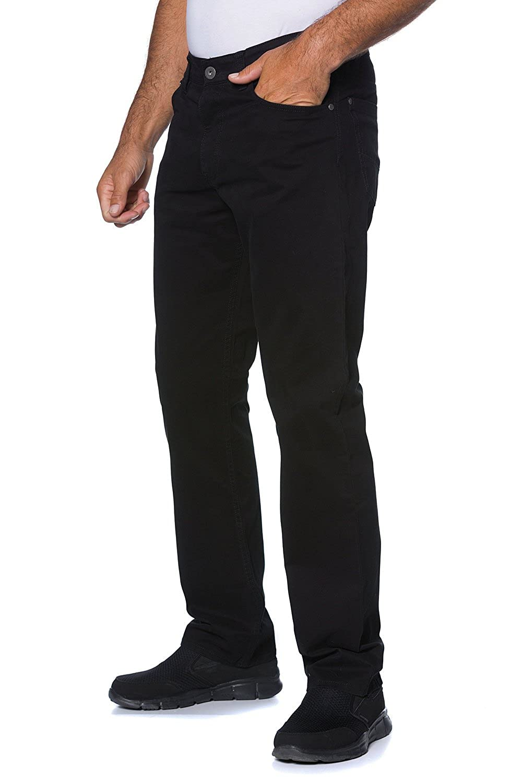 6aa1b4f990eb JP 1880 Homme Grandes tailles Chino Slim Fit Hommes Droit Business Casual  Pantalon noir 29 702614