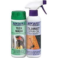 Nikwax Kledingwasmiddel Tech Wash+TX-Direct spray, 2 x 300ml, transparant, één maat, 303420000