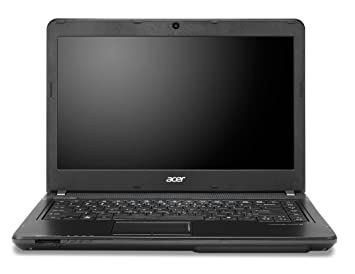 Acer TravelMate 43-M-32374G50Mak - Ordenador portátil (Negro, Concha, Enterprise, Small Business, i3-2370M, Intel Core i3-2xxx, Socket 988): Amazon.es: ...