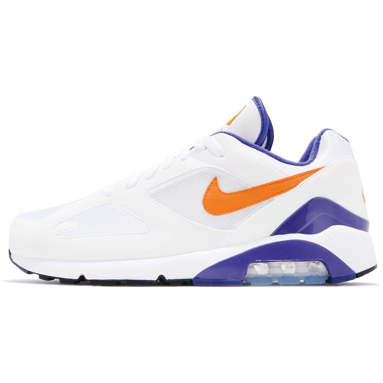 (ナイキ) エア マックス 180 メンズ ランニング シューズ Nike Air Max 180 615287-101 [並行輸入品] B07BGY34BS 25.0 cm WHITE/BRIGHT CERAMIC-DARK CONCORD