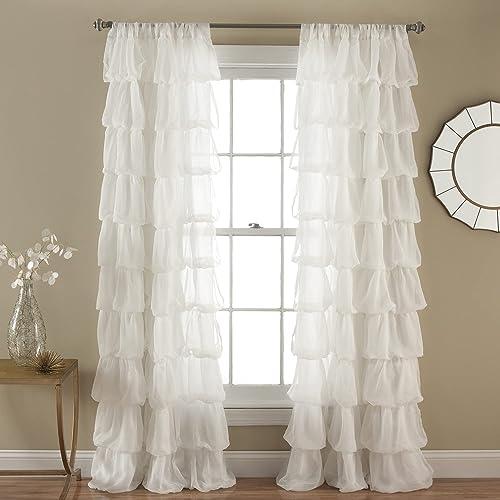 Lush Decor Olivia Window Curtain Panel