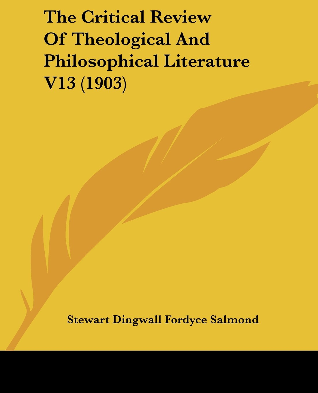 Download The Critical Review Of Theological And Philosophical Literature V13 (1903) pdf epub