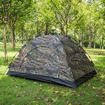 ZHUDJ Outdoor Camouflage Tent, Double Single Rainproof Windbreak, Outdoor  Camping Tent,Camouflage 484b301b1106