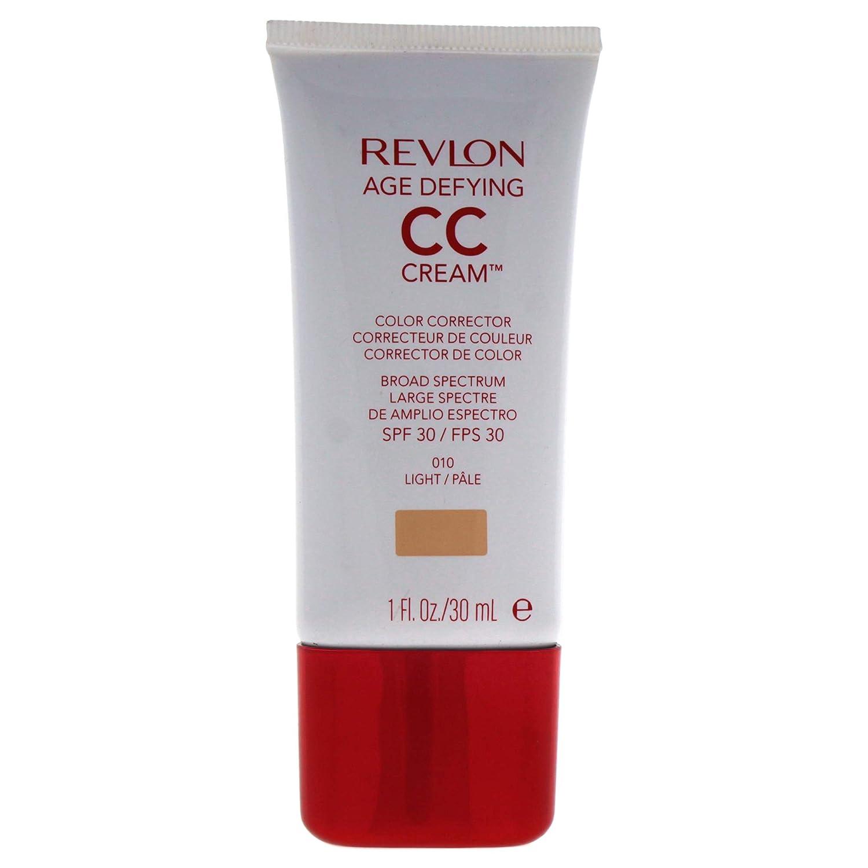 Revlon Age Defying CC Cream, Light/010, 1 Ounce