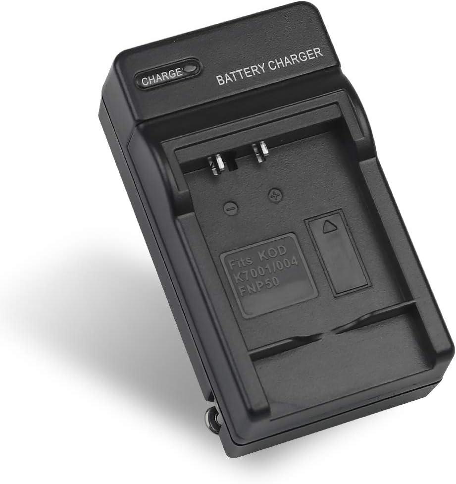 Pentax D-Li68 Battery Charger for Fujifilm NP-50,Kodak KLIC-7004