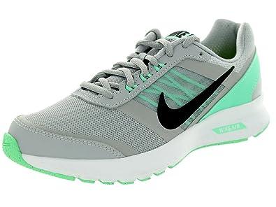 69714e05a55c Nike Air Relentless 5 Wolf Grey black green Glow vlt Running Shoe 6 ...