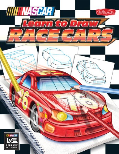 NASCAR Learn to Draw Race Cars (Licensed Learn to Draw) (Licensed Car)