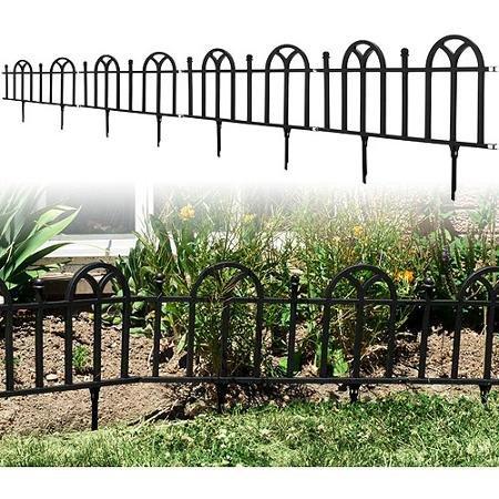 Amazon com: TerraTrade Victorian Garden Border Fencing Set, 4pk
