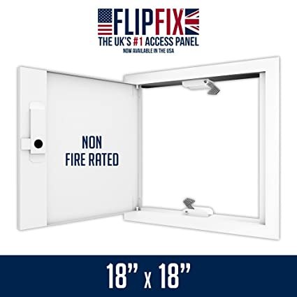 Amazon.com: FlipFix Metal Faced Access Panel with Picture Frame ...