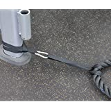 Battle Rope Anchor Kit (Pair) Quickly Protect Rope From Damage Commercial Quality FREE Video Course