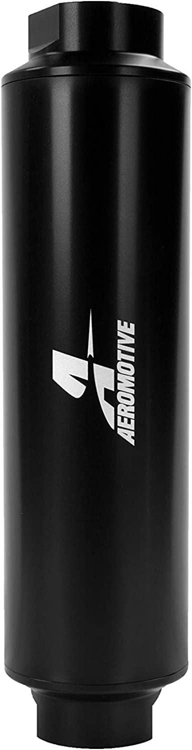 AN-16 Ports Aeromotive 12363 In-Line 40-Micron Stainless Steel Fuel Filter