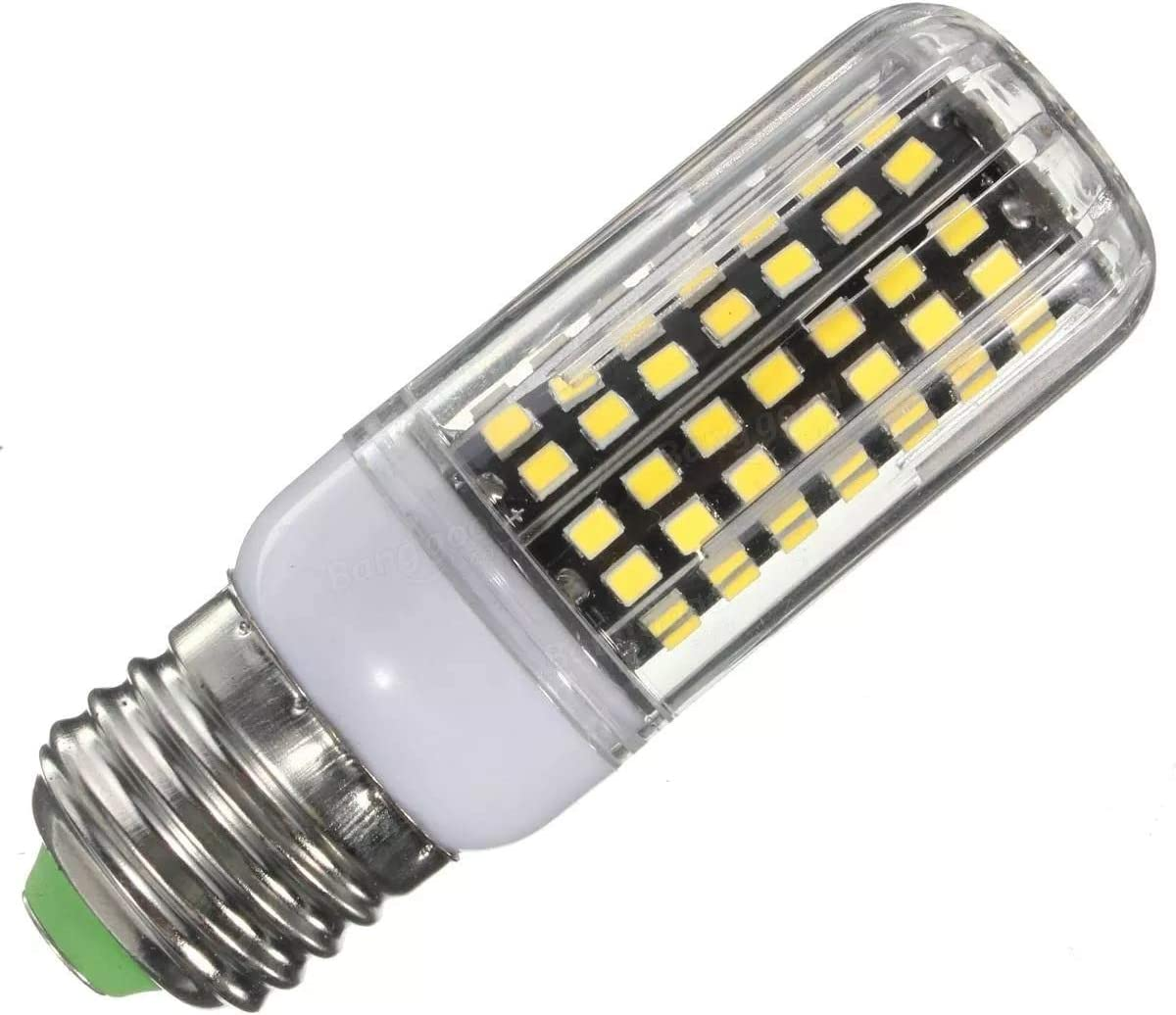 Inicio bombillas led E27 9W 112 SMD 2835 LED de la cubierta de maíz del bulbo de lámpara no regulables AC110V blanco blanco/caliente Bombillas (Talla : Warm White E27) Warm White E27