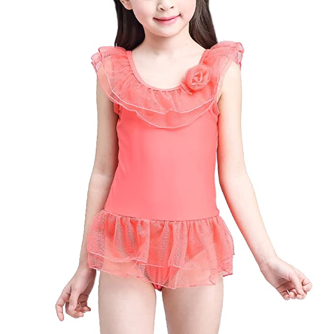 Amazon.com: Moda Cute Yarn un estilo falda Niñas Traje de ...