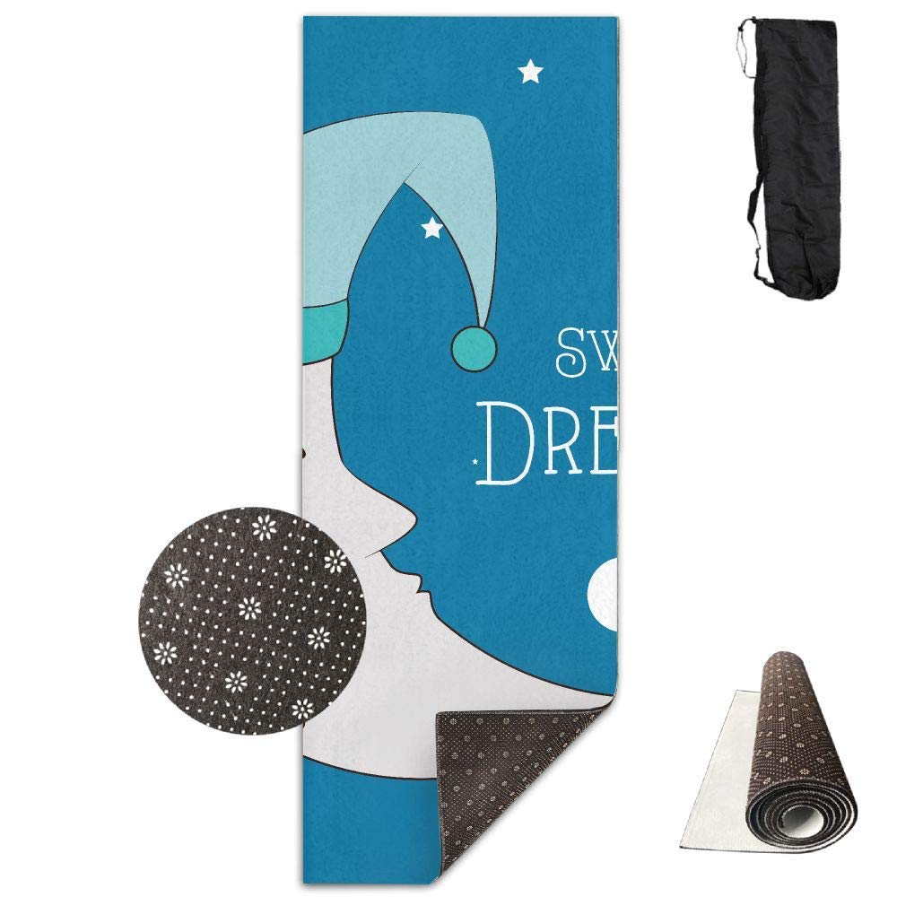 Amazon.com: Sweet Dreams Moon Yoga Mat - Advanced Yoga Mat ...
