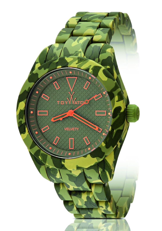 ToyWatch – Samtig – Camouflage GrÜn – vva01hg