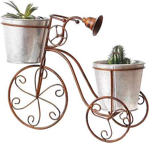 Gfbyq Soporte De Flores De Hierro, Soporte De Pie para Bicicletas ...