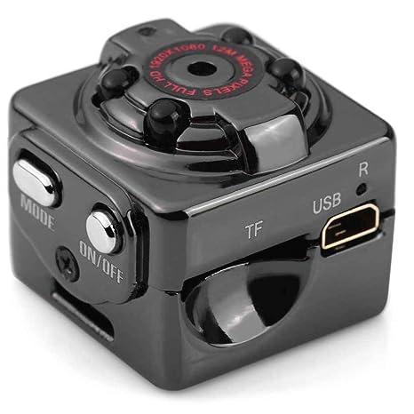 Lorsoul SQ8 Alta definición Mini Tarjeta del TF de la cámara grabadora de Voz, visión