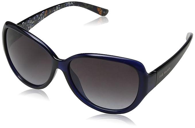 Ted Baker Shay Gafas de Sol, Azul (Navy), 59 para Mujer ...