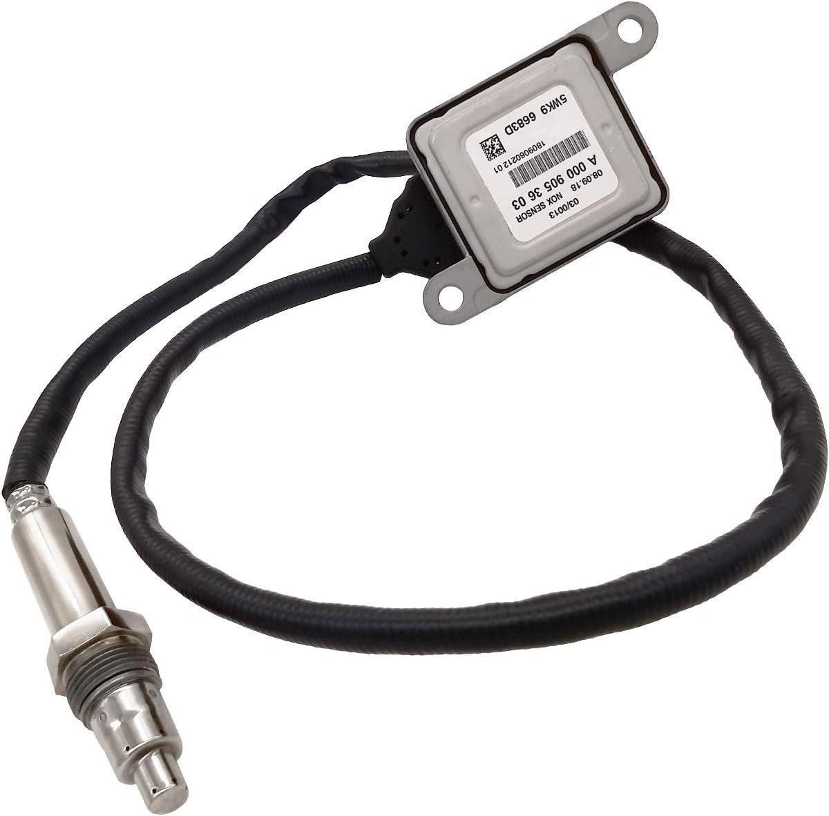 ROADFAR Nitrogen Oxide Sensor Nox Sensor Replacement fits for A0009053603 Mercedes-Benz ML400 ML320 CLA250 GL320