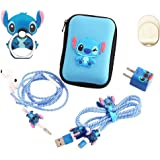 ZOEAST(TM) Stitch Set DIY Protectors Apple Data Cable USB Charger Data Line Earphone Wire Saver Protector Compatible…