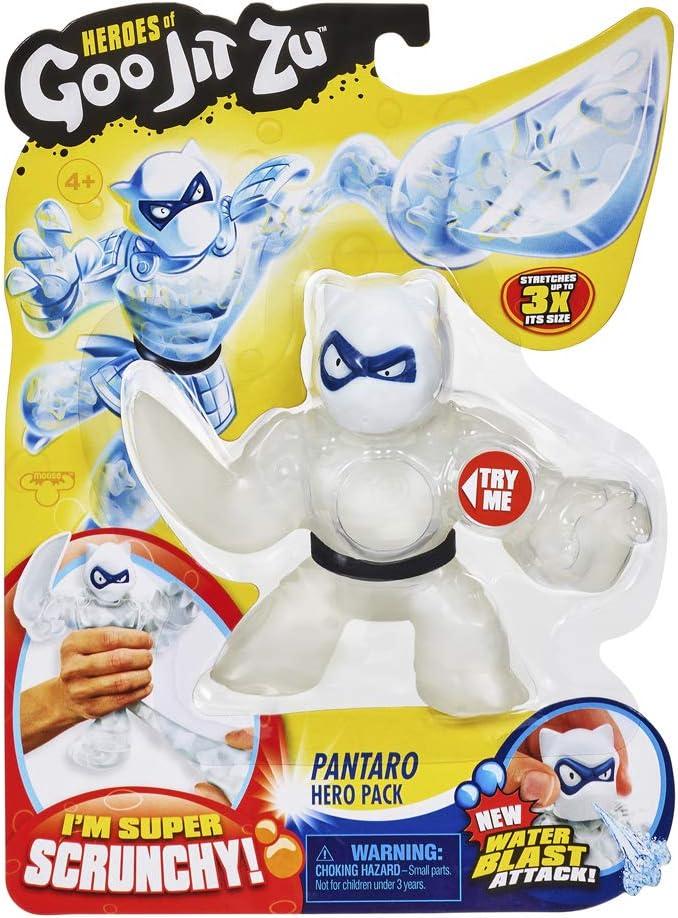 Figura Acci/ón con Agua PANTARO Heroes de Goo Jit Zu