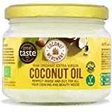 Coconut Merchant Organic Coconut Oil 10.1 Ounce | Extra Virgin, Raw, Cold Pressed, Unrefined | Ethically Sourced, Vegan, Ketogenic and 100% Natural | For Hair, Skin & Cooking 10.1 Ounce