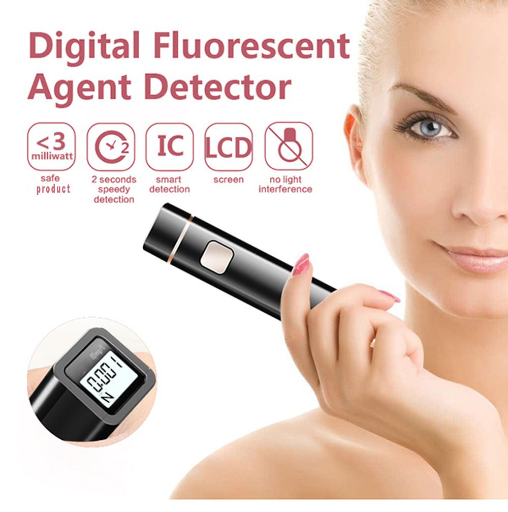 Fluorescent Agent Checker Detector Fluorometer Cosmetic FWAs Tester KIKAR