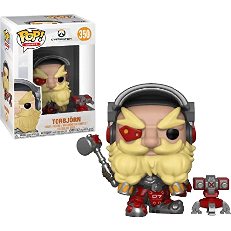 amazon com funko torbjörn overwatch x pop games vinyl figure 1