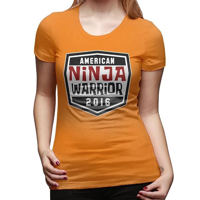 American Ninja Warrior 2016 camiseta de algodón de las ...