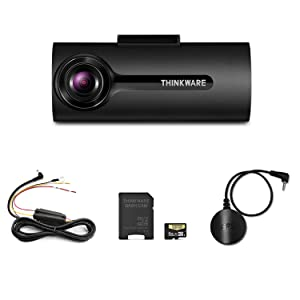 Thinkware F70 Dash Cam Bundle with Hardwiring Cable & GPS (No Cigarette Power Cable)