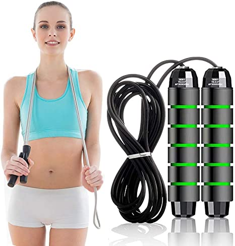 Speed Rope Fast Skipping Rope Boxing Jumping Exercise Fitness HIIT Fat Burning