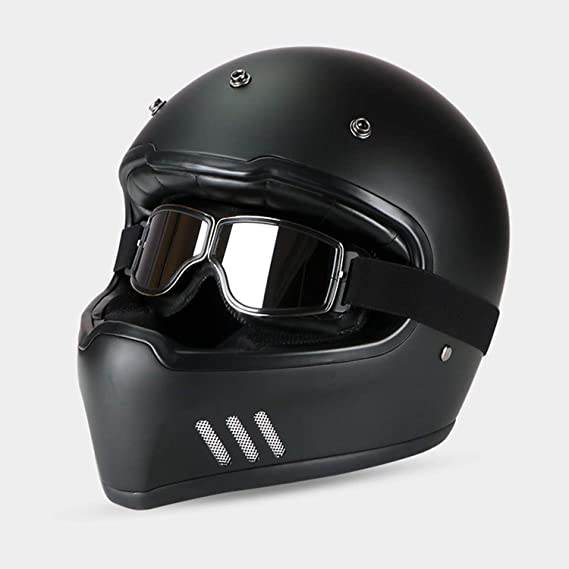 Galat/ée Occhiali Moto Ski Goggles Biker Motocross Harley Chopper Sportivi Protezione Sole UV Vento Protect Steampunk Vintage Aviator Pilot Casco colore