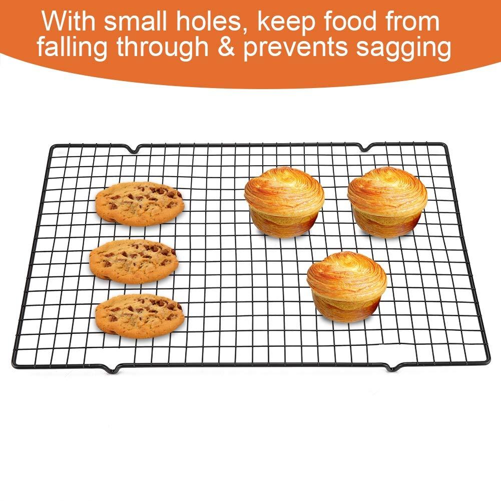 In Acciaio Inox Antiaderente Griglia di Raffreddamento Griglia di Cottura Vassoio per Biscotto//Torta//Pane//Torta Cremagliera Vendita Calda