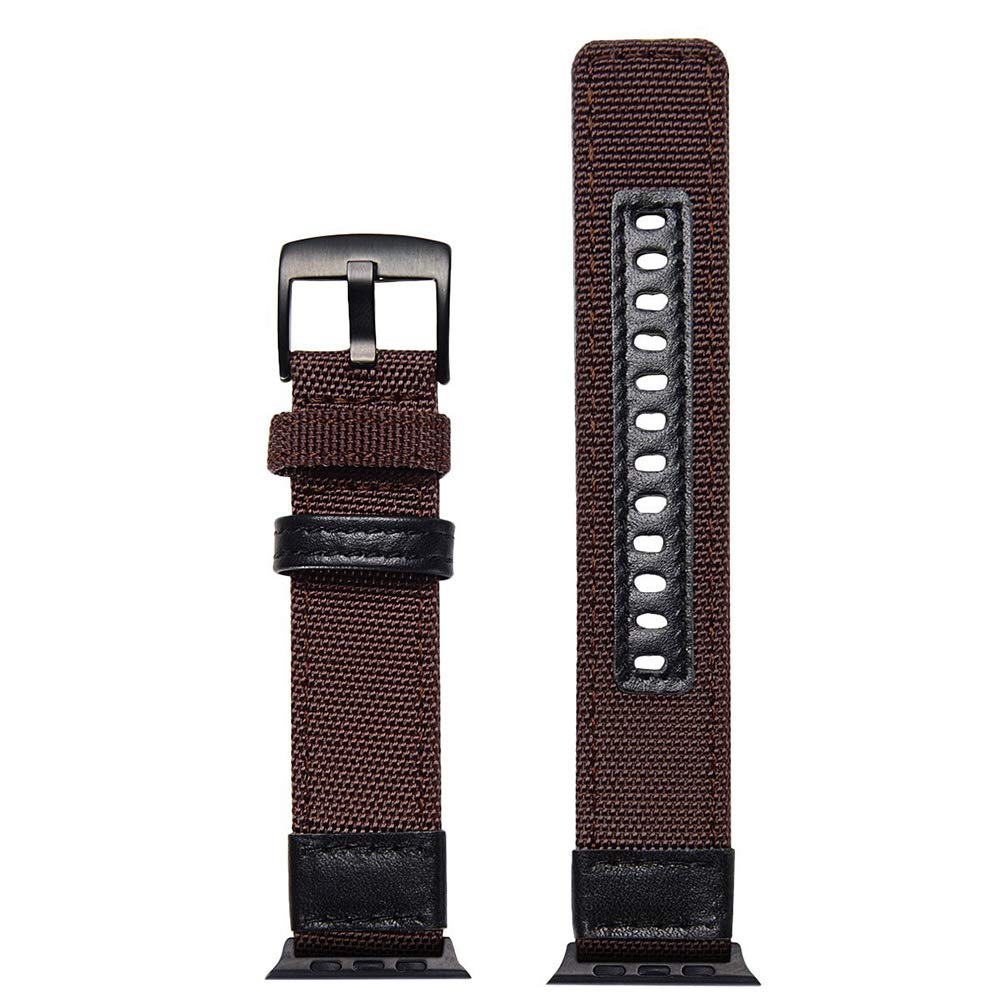 Amazon.com: Watch Strap 38/40 / 42 / 44mm Classic Jeep Style Nylon Watch Band Replacement Band Compatible Apple Watch iWatch Series 4/3/2/1 (Army Green, ...
