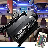 Raysell 16W RGB Flash LED PMMA Fiber Optic Star Ceiling Lights Source Engine Driver with Remote Controller