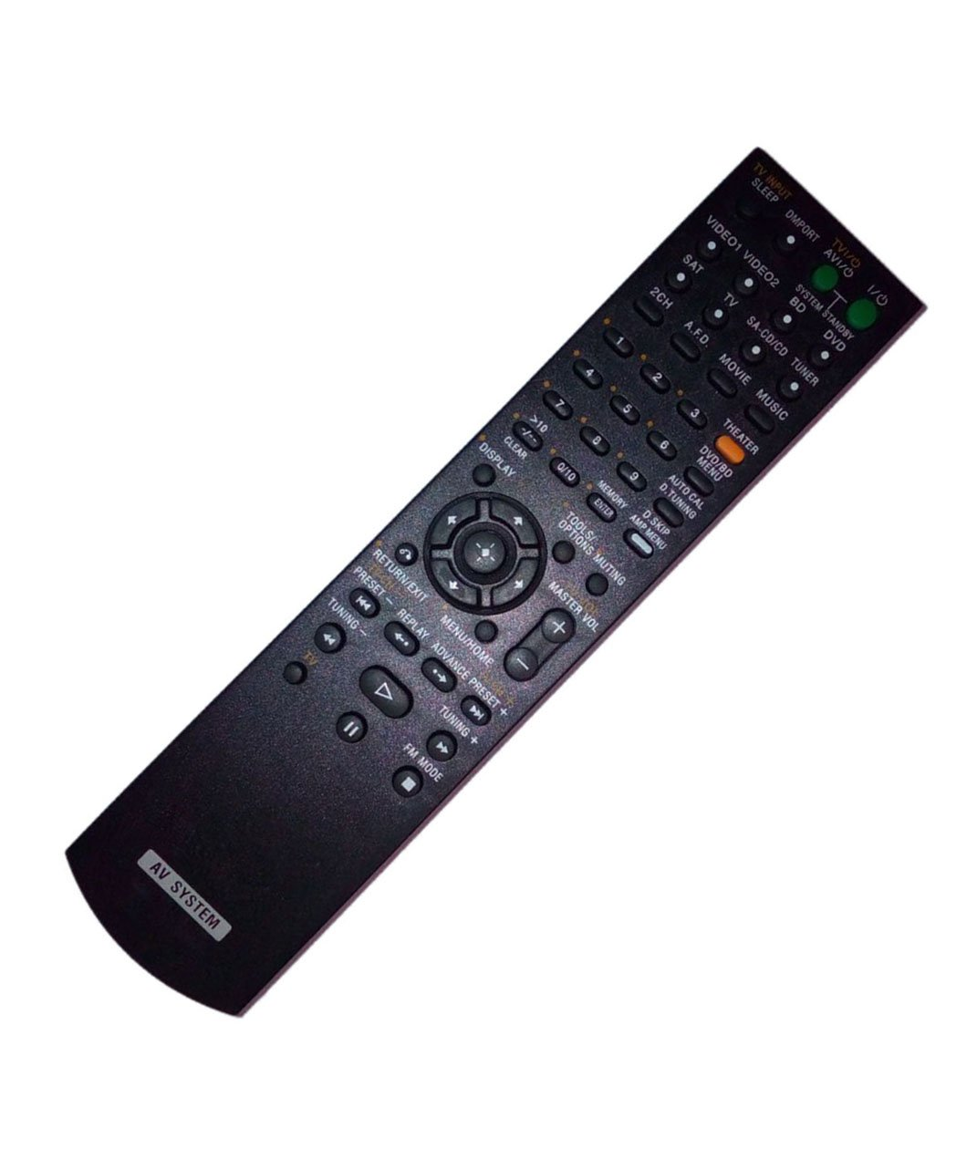Replaced Remote Control for Sony RM-AAU027 RM-AAU021 HTSS2300/C STRDG520 HT7200DH Home Theater Audio/Video Receiver AV System JustFine 4330960605