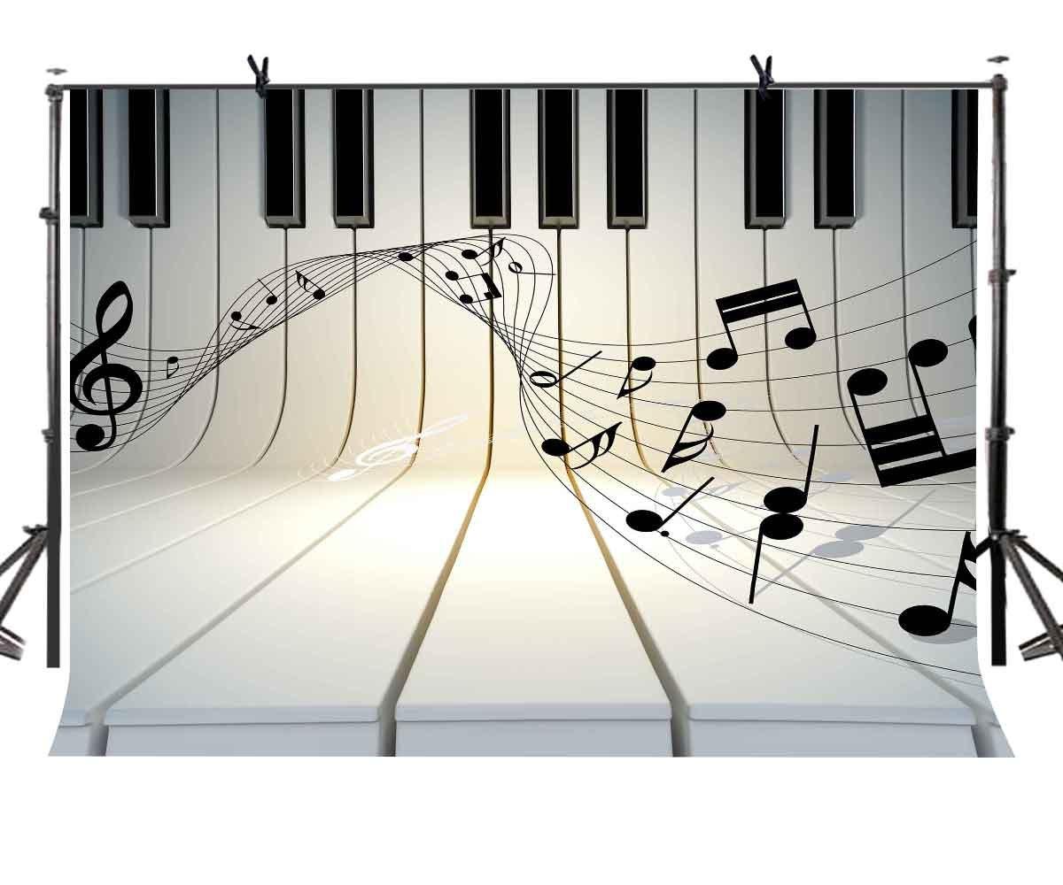 LYLYCTY LYLX436 - Llavero de Piano con diseño de música ...