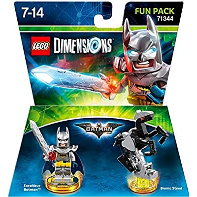 Lego Dimensions Fun Pack Excalibur Batman Movie Fun Pack 71344: Video Games